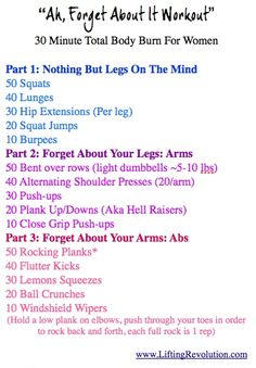 Total body fat scorch workout! Hit it all with this workout.