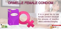Each box of ORMELLE has 5 units of female condoms. ORMELLE FEMALE CONDOM is manufactured using premium quality natural rubber latex and conforms to European standards EN ISO 25841:2011. Ormelle is CE marked with CE 0459 by the French regulatory body.  It is a great fun to use female condom because the process of insertion offers unlimited foreplay. Have fun buy female condom online from www.condomking.in