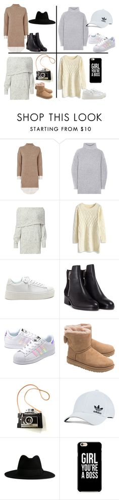 """""""Sweater Dress Collection"""" by unixorn4lifexoxo ❤ liked on Polyvore featuring Brochu Walker, Acne Studios, Joie, Chicwish, 3.1 Phillip Lim, adidas Originals, UGG and Yves Saint Laurent"""
