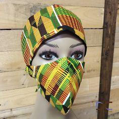 """Foundation"" Printed Headband + Mask"