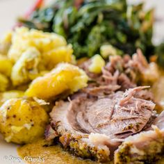 Jehněčí na zelenině - Spicy Crumbs Spicy, Pork, Meat, Ethnic Recipes, Easter, Kale Stir Fry, Easter Activities, Pork Chops