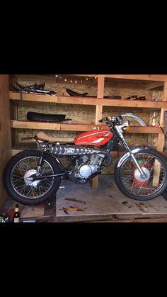 My 1974 Suzuki Sierra build in progress Tracker Motorcycle, Classic Motorcycle, Street Tracker, Scrambler, Cool Bikes, Cars And Motorcycles, Cool Cars, Deadpool, Sumo