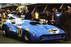 24 heures du Mans 1968 - Matra 630 #24 - Pilotes : Henri Pescarolo / Johnny Servoz-Gavin - Abandon
