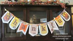 With Stampin' Up!'s Build A Banner Kit It Is Fun and Easy to Make Beatiful Banners