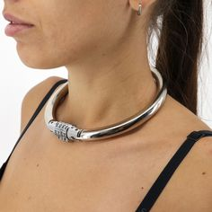 Neck Rings, Female Chastity, Collars Submissive, Slave Collar, Day Collar, Leather Jewelry, Chokers, Etsy, Dark Side