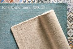 Buy Teal Wool Melange Rug from the Next UK online shop