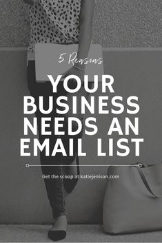 If your business exists in the online space, you need an email list. While it may seem like one more thing to do, an email list has so many great benefits. Email Marketing, Content Marketing, Affiliate Marketing, Digital Marketing, Make Money Blogging, How To Make Money, Saving Money, Business Tips, Online Business