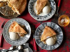 In 2013, at least, one of the great pie makers in New York City was Kierin Baldwin, the pastry chef at The Dutch in the SoHo neighborhood This recipe is adapted from hers, for a plain apple pie It benefits from heeding her advice to pre-cook the filling before baking