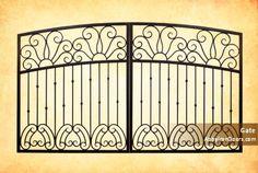 Custom Gate | Rails | Iron | Gates | Railings | Metal | Security