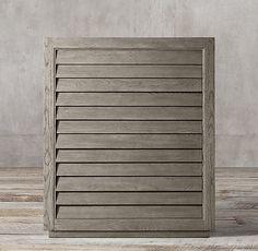 Grand Shutter 4-drawer Dresser
