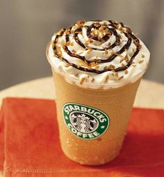 #TreatYourself #Shopkick  --  One of my favorites Starbucks Frapuccino caramel frapuccino 'light' so I can get it with whip cream and extra caramel and have the same calories ;)