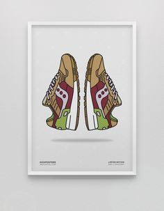 """Image of End. x Saucony Shadow 5000 """"Burger"""" <br>"""