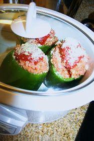 'A Casarella: Meatloaf-Stuffed Peppers