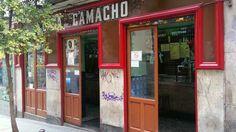 Casa Camacho (vermut) San Andrés, 4 Malasaña Madrid 28004 Teléfono:91 531 35 98 Horarios:De lu. a ju. de 12 a 2h. Vi. y sa. de 12 a 2.30h. Do. cerrado.