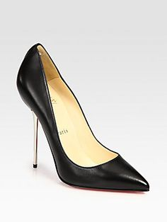Christian Louboutin Lipsinka Leather Pumps