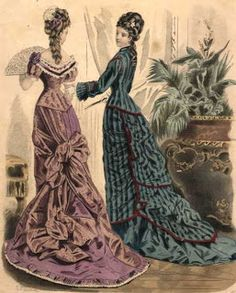 Século XIX - Parte 2: A Moda na Era Vitoriana