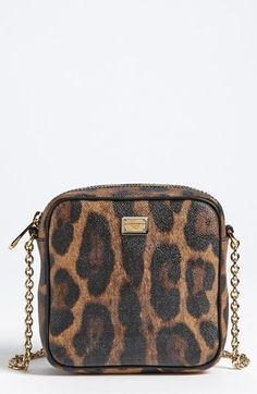 2068757b3090 Color(s)  leopard. Style Name  Dolce   Gabbana  Miss Glam  Crossbody Bag.