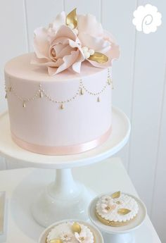Single Layer Cake Decorating Ideas Best Of 257 Best Pink Cake Images On Pinteres. Single Tier Cake, Single Layer Cakes, 2 Tier Cake, Fondant Cakes, Cupcake Cakes, Mini Cakes, Simple Fondant Cake, Cake Cookies, Pretty Cakes