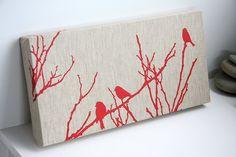 flock original screen printed design