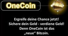 OneCoin die neue Kryptowährung