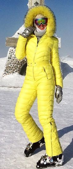 conso yellow | skisuit guy | Flickr