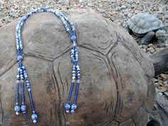 Juzu Sodalite Juzu SGI Prayer Beads Buddhist by creationsbylr