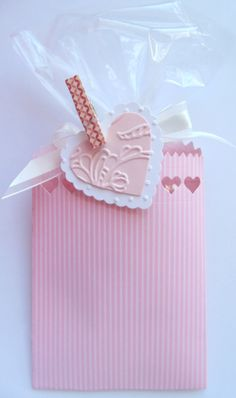 Iguanastamp! Stampin' Up mini treat bag framelit