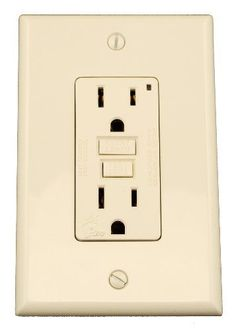 Leviton 7599MT 15 Amp 125 Volt SmartlockPro GFCI Monochromatic Receptacle Midway Wallplate and Screws Included Light Almond *** See this great product.Note:It is affiliate link to Amazon.