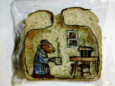 Crafty lunch surprise from an awesome Dad - David LaFerrier, packages his sons' lunches in the most adorably creative way