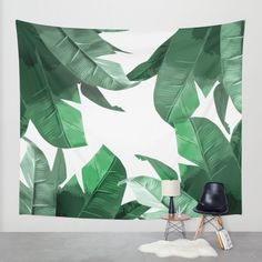 Buy Tropical Palm Print Wall Tapestry by Tamsin Lucie. Worldwide shipping available at Society6.com. Just one of millions of high quality products available.