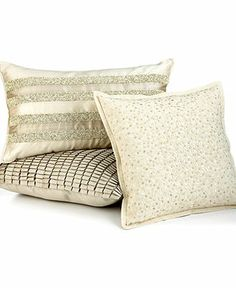For the Glamour Girl: HOTEL COLLECTION #bedding #pillows #decor BUY NOW!