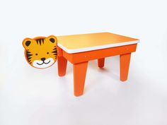 CocoMoco Kids Kuriouskid Tiger study table  Kids love animals  What happens when their room becomes a jungle? Creativity runs wild!
