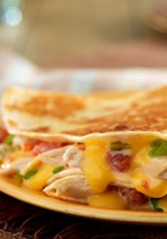 Cowboy Quesadillas — You thought it wasn't possible? The addition of shredded chicken makes these easy, cheesy quesadillas even more delicious.