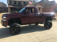 Silverado Single Cab, Lifted Trucks, Chevy, Antique Cars, Monster Trucks, Antiques, Vehicles, Vintage Cars, Antiquities