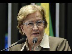 Ana Amélia diz que a sociedade não aceita mais ameaças ao poder Judiciár...