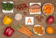 Do you want to learn about vitamin a rich foods? Discover 10 common vitamin a rich foods at Health and stay better informed to make healthy living decisions. Vitamins For Hair Growth, Hair Vitamins, Tips For Thick Hair, Sleeve Gastrectomie, Blog Bio, How To Grow Taller, Beta Carotene, Healthy Living Tips, Vitamins And Minerals