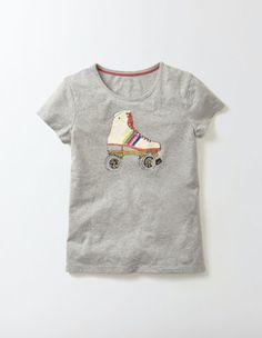 Sportswear T-Shirt - Grey Marl Rollerboot £20-22