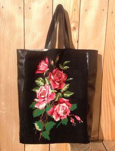 Sac en Canevas Florale par LesDieuses sur Etsy