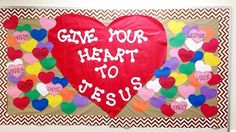 Valentines Day bulletin board
