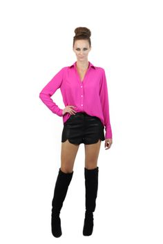 Camisa Basic Shorts Chic