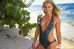 Lindsey Vonn Swimsuit Body Paint Photos, Sports Illustrated Swimsuit 2016