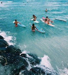 Surf :: Ride the Waves :: Free Spirit :: Gypsy Soul :: Eco Warrior :: Surf Girls :: Seek Adventure :: Summer Vibes :: Surfboard Design + Style :: Free your Wild :: Surfing Inspiration No Wave, Summer Vibes, Hawaii Surf, Blue Hawaii, Hawaii Life, Summer Goals, Summer Aesthetic, Beach Aesthetic, Blue Aesthetic