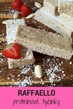 Chutné kokosové proteínové tyčinky á la RAFFAELLO si zamilujete ;-)Tento a ďalšie super recepty na domáce proteínové tyčinky nájdete v našom ebooku DIY proteínové tyčinky ;-) Tiramisu, Cheesecake, Ethnic Recipes, Fitness, Food, Gourmet, Raffaello, Cheesecakes, Essen