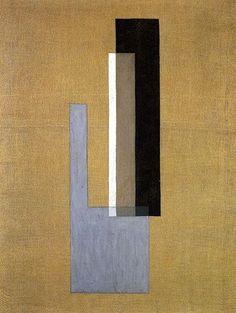 László Moholy-Nagy (Hungarian, 1895–1946) Konstruktion - 1921