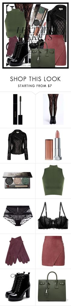 """Good girls are Bad girls that haven't been caught 🌹"" by queenofelegance ❤ liked on Polyvore featuring Gucci, Boohoo, Temperley London, Maybelline, Chantecaille, WearAll, La Perla, Heidi Klum, Portolano and Michelle Mason"