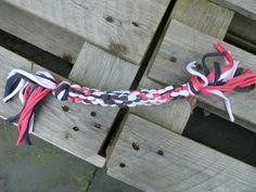 hondenspeeltjes maken van textielgaren