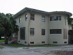front door is to the left