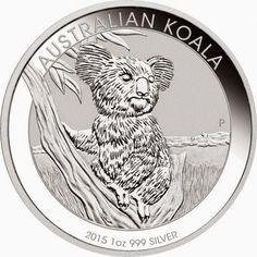 2015 Australian 1 oz Silver Koala Coin