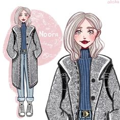 Character Design Idea~ By Alisha Art Drawings Sketches, Cute Drawings, Noora Style, Noora Skam, Skam Isak, Isak & Even, Collage Techniques, Picture Albums, Drawing Skills