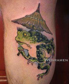 belfast frog tattoo